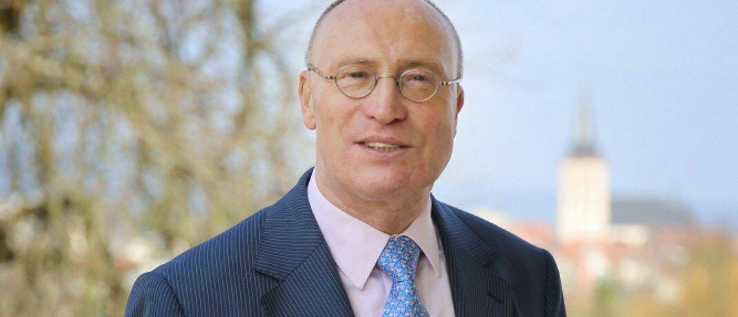 Blickt niemals zurück: Starcapital-Vorstand Manfred Schlumberger