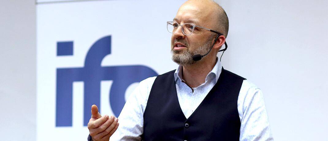 Timo Wollmershäuser ist Stellvertretender Leiter des Ifo Zentrums für Makroökonomik und Befragungen.  © Ifo Institut