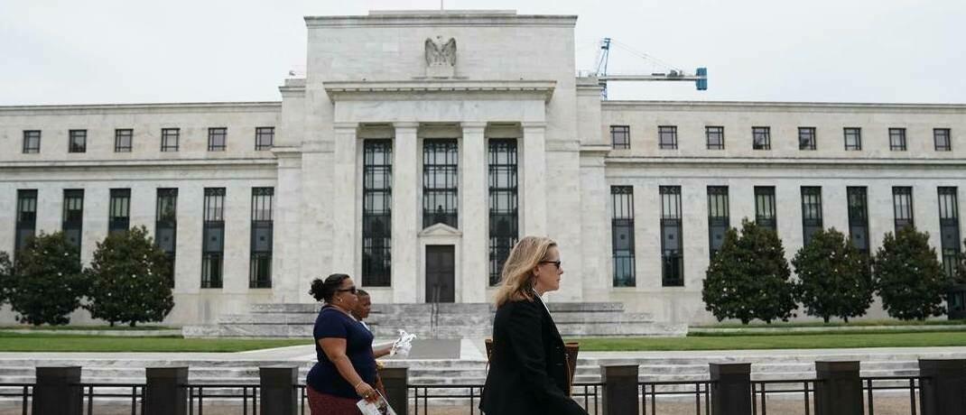 Federal Reserve in Washington D.C.: US-Notenbank wirft einen Rettungsanker für einige Unternehmen aus.