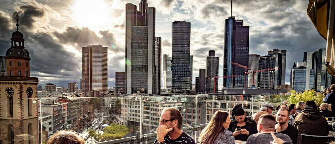 Blick auf das Bankenviertel: Frankfurt bekommt mit der Fidus Finanz eine neue Vermögensverwaltung. |© imago images / Jürgen Ritter