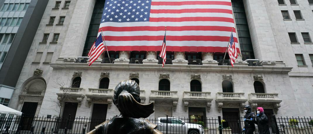 Börse in New York: Das Corona-Virus erschüttert die internationalen Aktienmärkte.|© Imago images / Zuma Wire