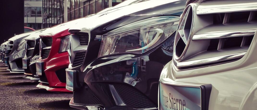 Im Autohaus: Die Werbung von Check24 mit der