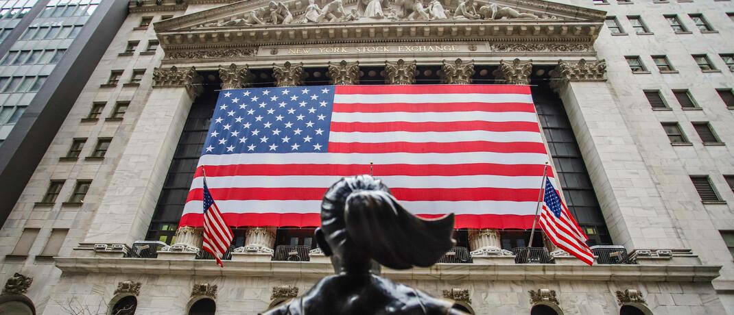 Wall Street in New York: ETFs können Anleger den ganzen Börsentag über handeln.