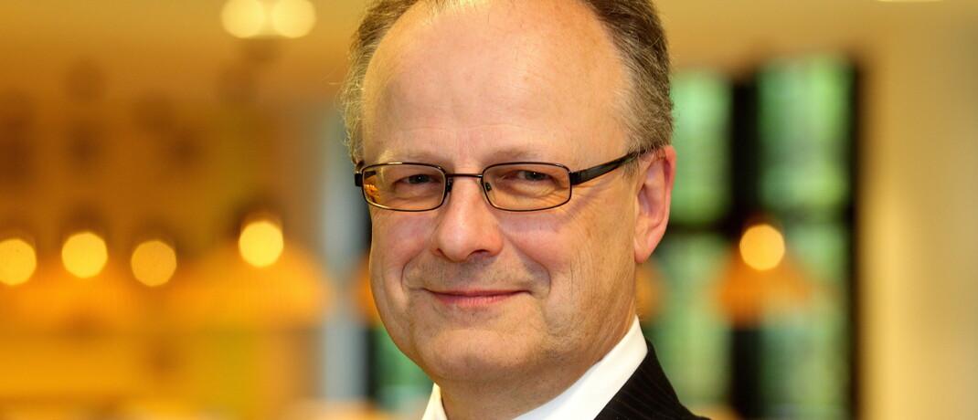 Hartwig Webersinke leitet das Institut für Vermögensverwaltung (InVV) an der Technischen Hochschule Aschaffenburg. © InVV