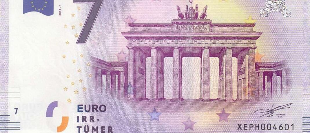 Der Euro und die sieben Irrtümer: Die Dokumentation zeigt Fehler im Zusammenhang mit dem Euro.|© ZDF/Clara Gienger