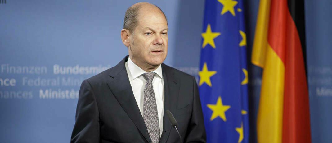 Finanzminister Olaf Scholz: Wer einen Kredit bekommen will, darf keine Dividenden ausschütten.