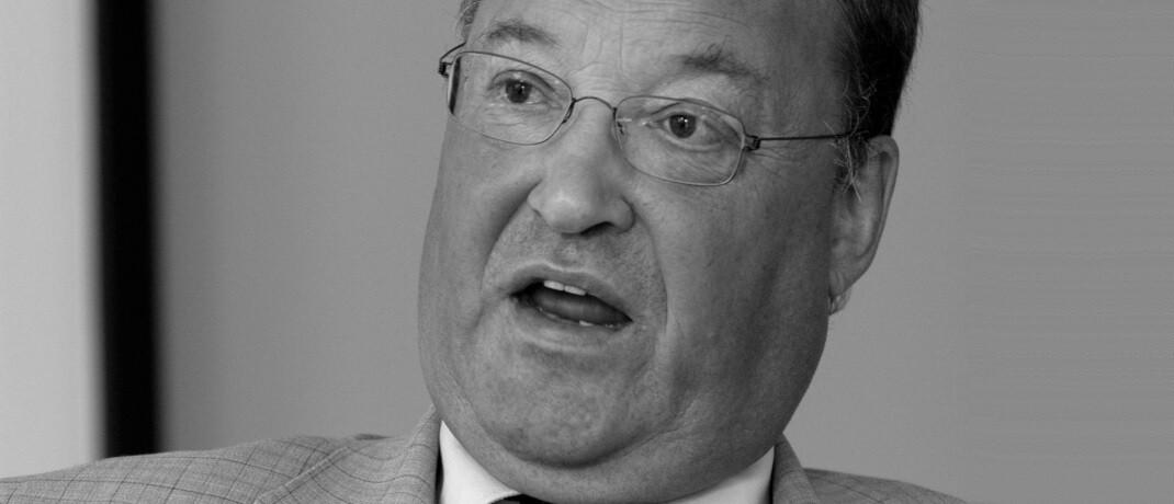 Der Verband unabhängiger Vermögensverwalter trauert um seinen langjährigen Präsidenten Lutz Gebser. |© Gebser & Partner