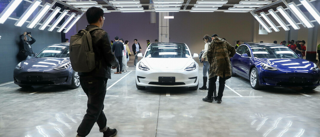 """Tesla-Gigafactory in Shanghai: """"Es klingt trivial, aber wer seine Kunden gut behandelt, ist im Vorteil"""", sagt David Czupryna."""