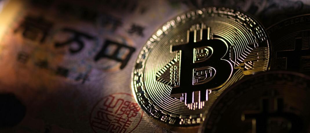 Symbolische Bitcoin-Münze|© imago images / AFLO