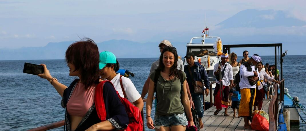 Aktuell kommen weniger Urlauber auf Bali an: Es ist wahrscheinlich, dass es Touristik-Unternehmen gelingen wird, wegfallende Wettbewerber zu ersetzen und freiwerdende Kapazitäten zu nutzen. |© imago images / INA Photo Agency