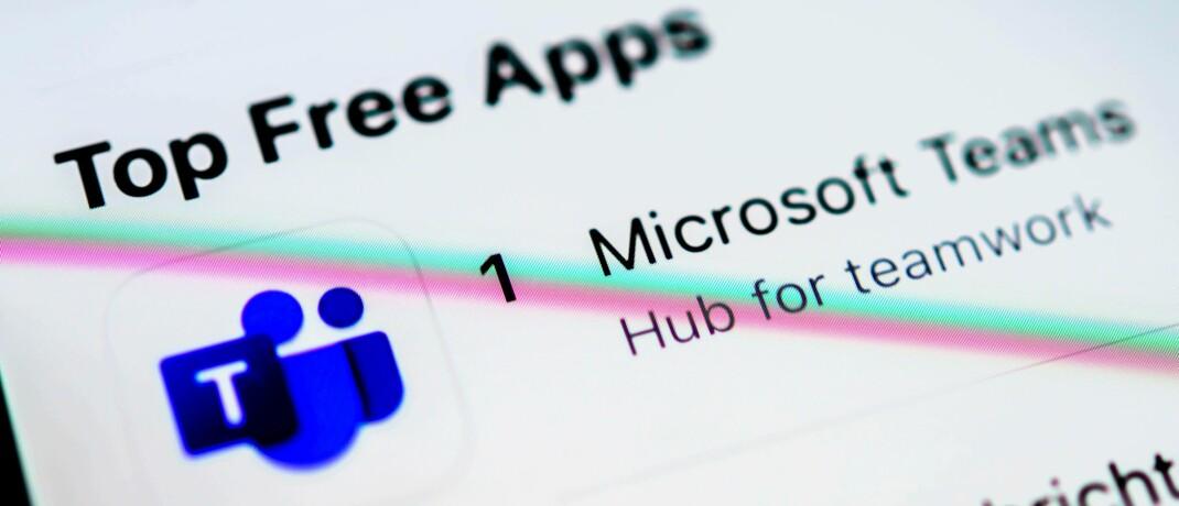 Microsoft gilt unter anderem wegen seiner Videokonferenz-Software als einer der Gewinner in der Corona-Krise: Die Aktie steht im Portfolio des Nordamerikafonds von Aberdeen Standard an erster Stelle.|© imago images / imagebroker / Valentin Wolf