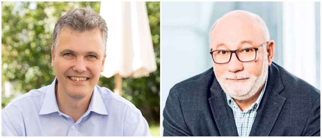 Herbert Schneidemann (l.) und Walter Capellmann: Der Hauptbevollmächtigte der Dela Lebensversicherungen in Deutschland und der Vorstandsvorsitzende der Bayerischen arbeiten künftig stärker zusammen.