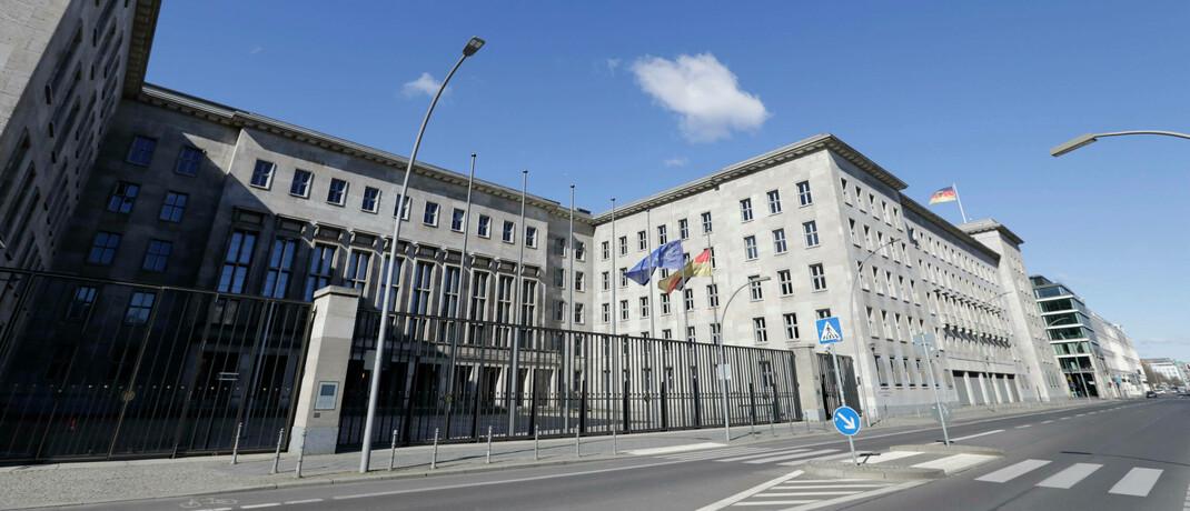 Bundesfinanzministerium in Berlin: Das BMF |© imago images / Jens Schicke