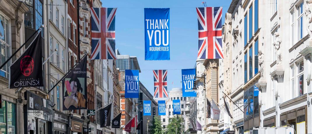Londoner Geschäfte in der New Bond Street begrüßen das Ende des Lockdowns: Die Corona-Krise hat viele Wirtschaftszweige in die Bredouille gebracht. Das bekommen auch Investoren zu spüren.