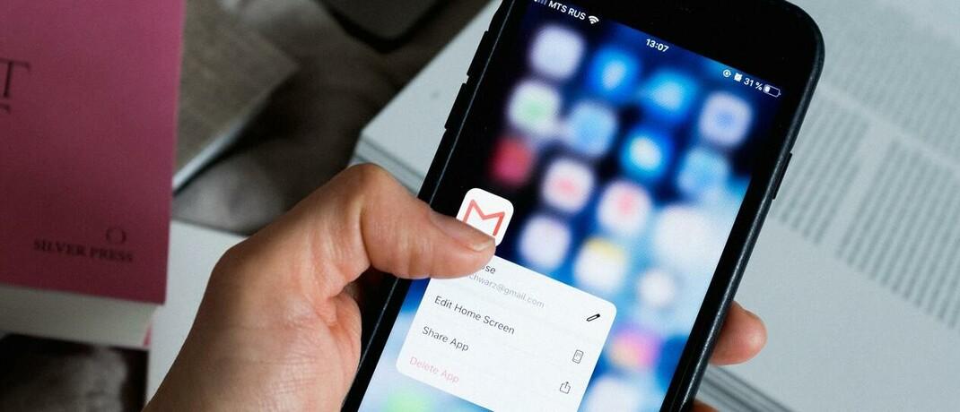 Gmail-App: Auch deutsche Finanz- und Versicherungsvermittler nutzen für die Kontaktaufnahme zu ihren Endkunden immer öfter digitale Hilfsmittel. Die E-Mail ist ihr wichtigstes Kommunikationsmittel. © Foto von ready made von Pexels