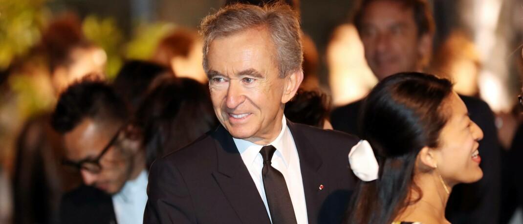 Bernard Arnault, CEO des europäischen Luxusgüterkonzerns LVMH: Weltweit gibt es rund 500 Unternehmen, welche die Voraussetzungen eines börsennotierten Familienunternehmens erfüllen.