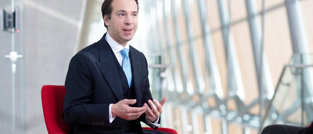"""Fidelity-Fondsmanager Christian von Engelbrechten: """"Ein wichtiger Kernpunkt ist die Beimischung von Nebenwerten"""""""