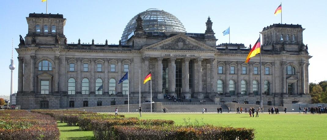 Sitz des Bundestags in Berlin