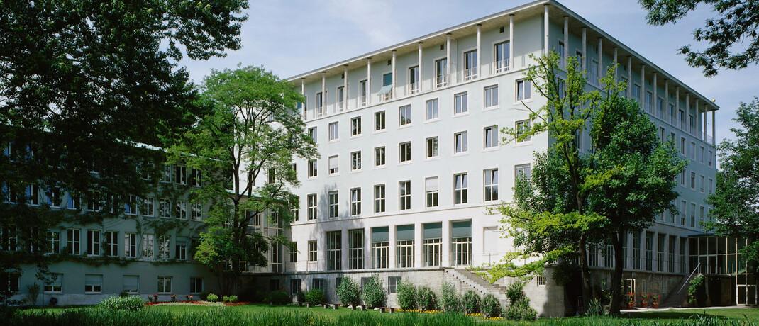 Allianz-Hauptgebäude in München: Der Versicherungsriese landet im Ranking der PKV-Anbieter auf Platz 3.