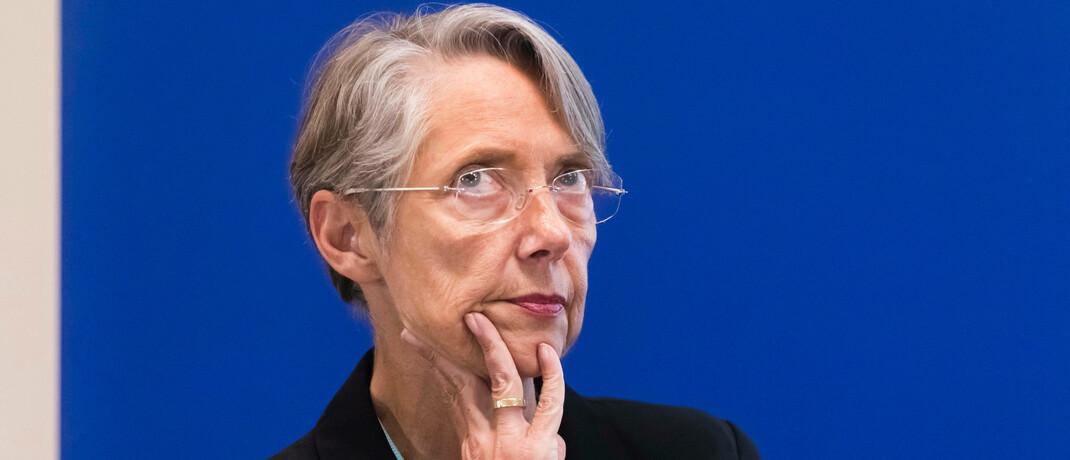 Die französische Umweltministerin Élisabeth Borne: Im Portfolio des Ossiam-ETFs machen französische Staatsanleihen mit einer Gesamtgewichtung von 29 Prozent die sechs größten Positionen aus.