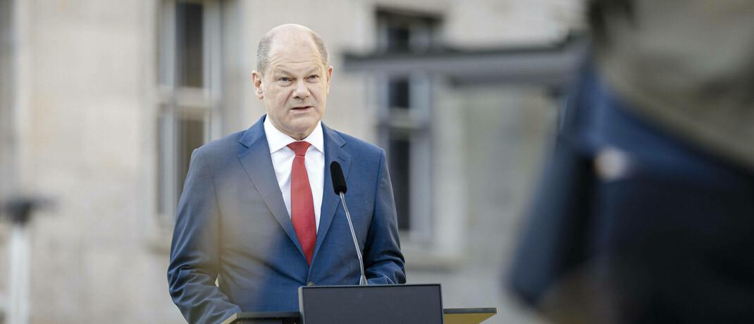 Olaf Scholz: Der Bundesfinanzminister will seine Päne für eine europäische Transaktionssteuer weiterverfolgen.|© imago images / photothek