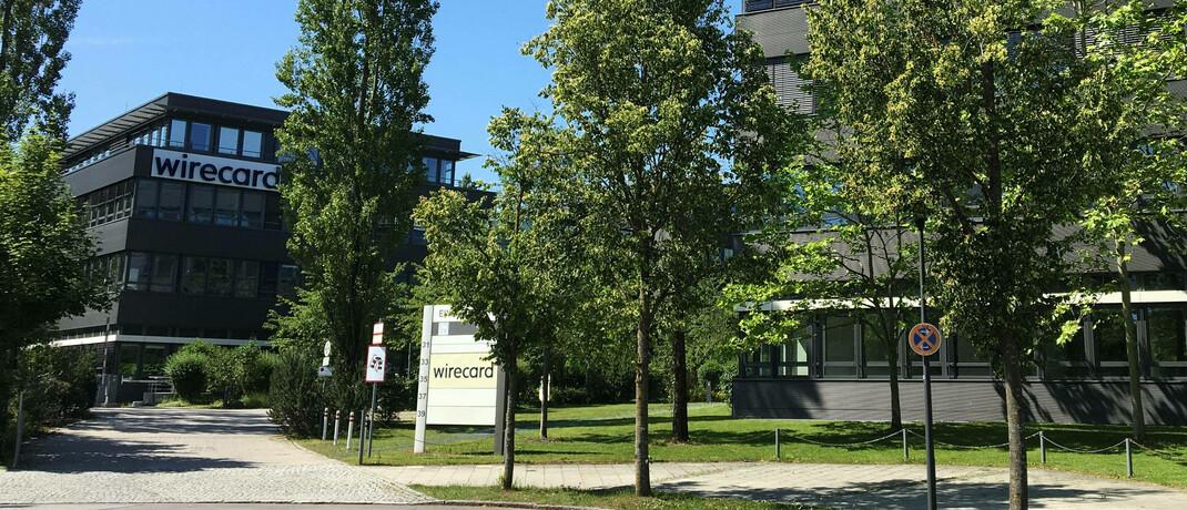 Firmensitz von Wirecard in Aschheim bei München: Der Dax-Konzern hat jetzt Insolvenz angemeldet.|© imago images / Future Image
