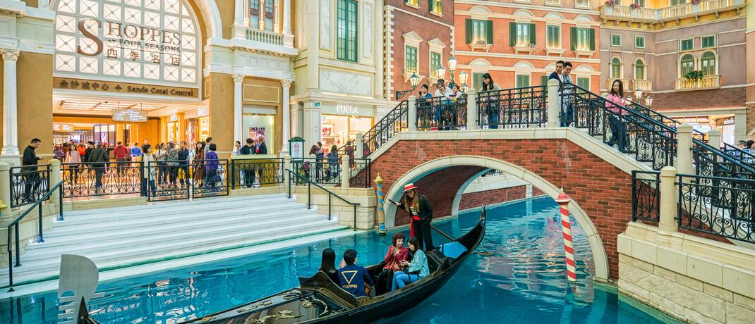 Grand Canal Shopping Center in Macau © imago images / Imaginechina-Tuchong