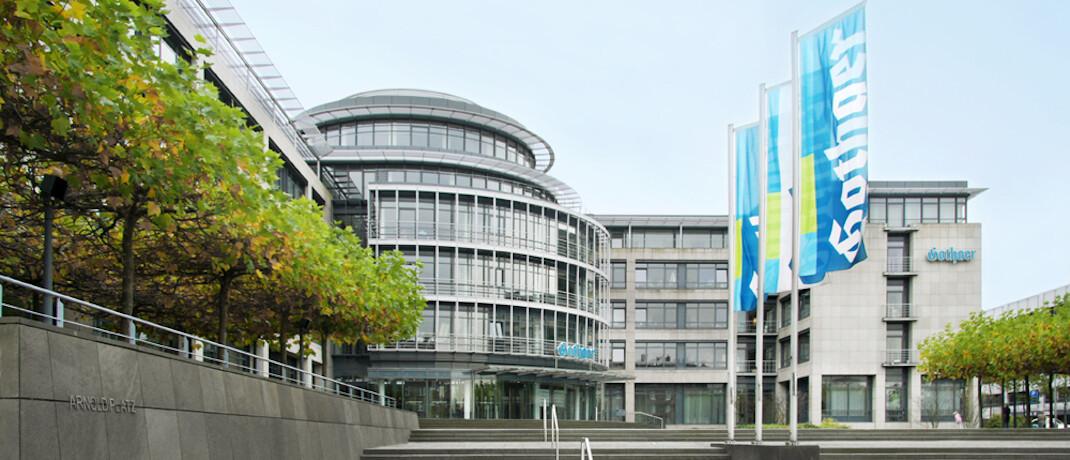 Gothaer-Gebäude: Die Hauptverwaltung des Versicherungskonzerns am Standort Köln-Zollstock soll in diesem Jahr klimaneutral werden. Die übrigen Standorte sollen dem Beispiel künftig folgen. |© Gothaer