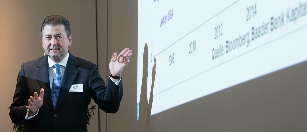 Robert Halver ist Leiter der Kapitalmarktanalyse bei der Baader Bank.