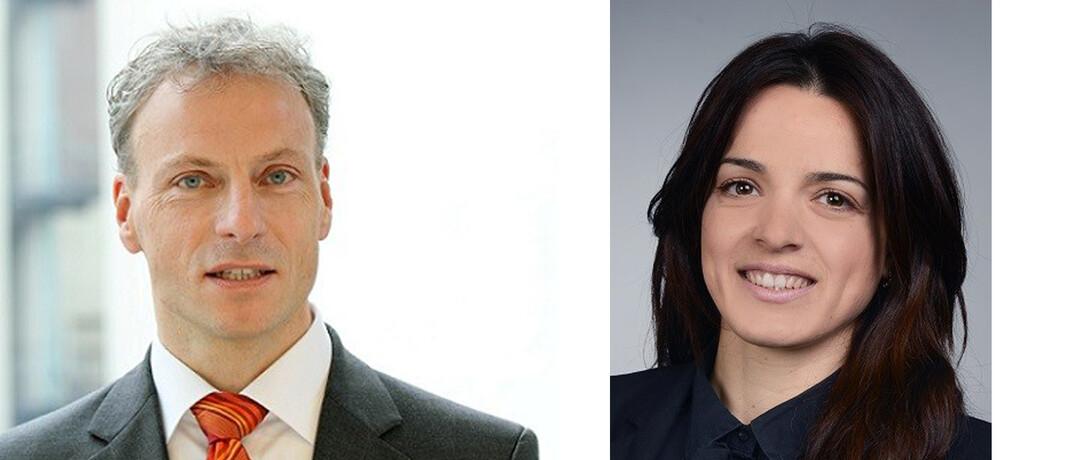 Bei Apo Asset Management im Vertrieb tätig: Thomas Webers und Christina Theokas.