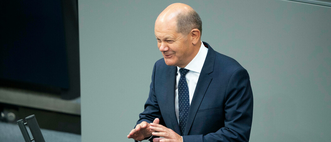 Finanzminister Olaf Scholz | © Imago Images / Future Image