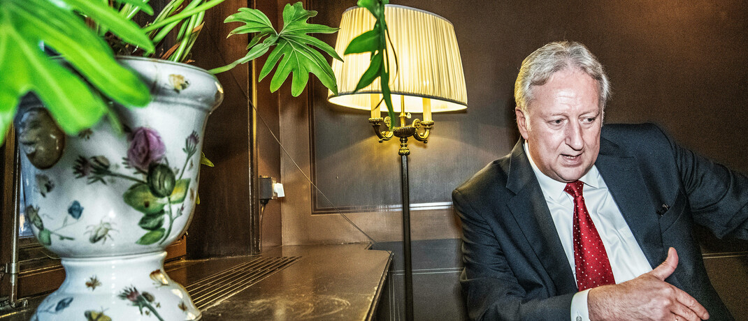 Folker Hellmeyer ist Chefanalyst bei Solvecon Invest.|© Imago Images / TT