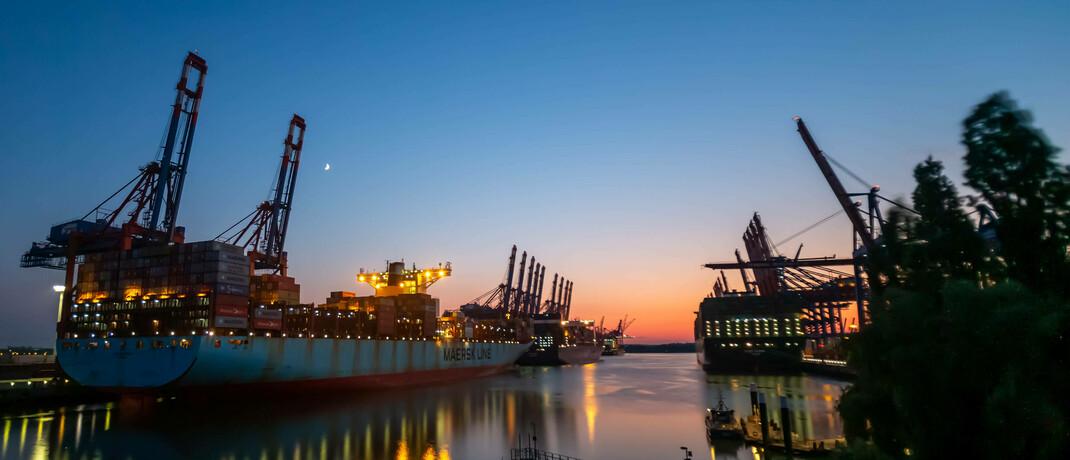 Frachtschiff im Hamburger Hafen: Die Corona-Krise trägt zur Entkoppelung der Weltwirtschaft bei, sagt Vermögensverwalter Thoas Wüst.