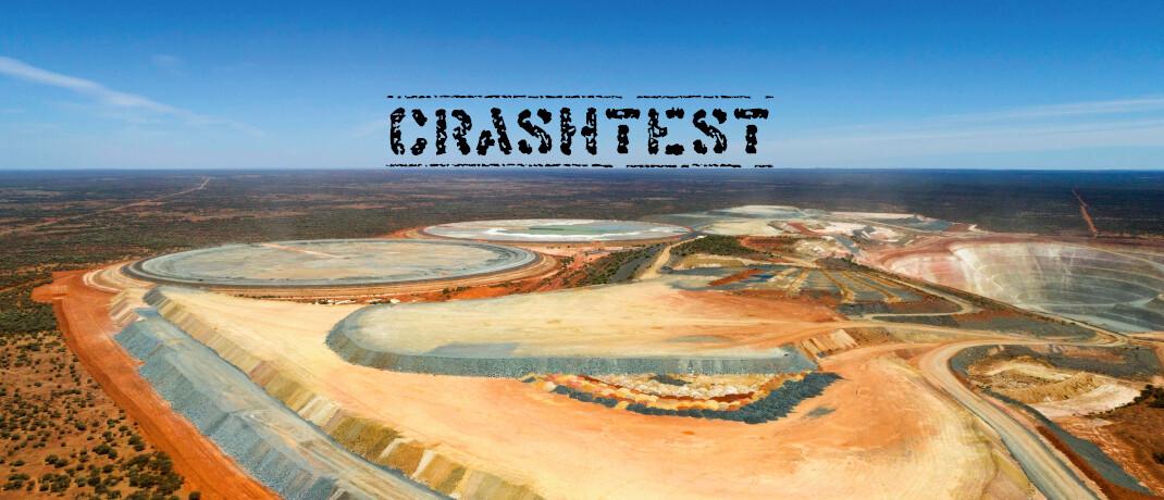 Gold-Tagebau im westaustralischen Murchison: Zwei der drei Crashtest-Sieger kamen mit Gold-Investments und Minenaktien gut durch die Corona-Krise © imago images/imagebroker