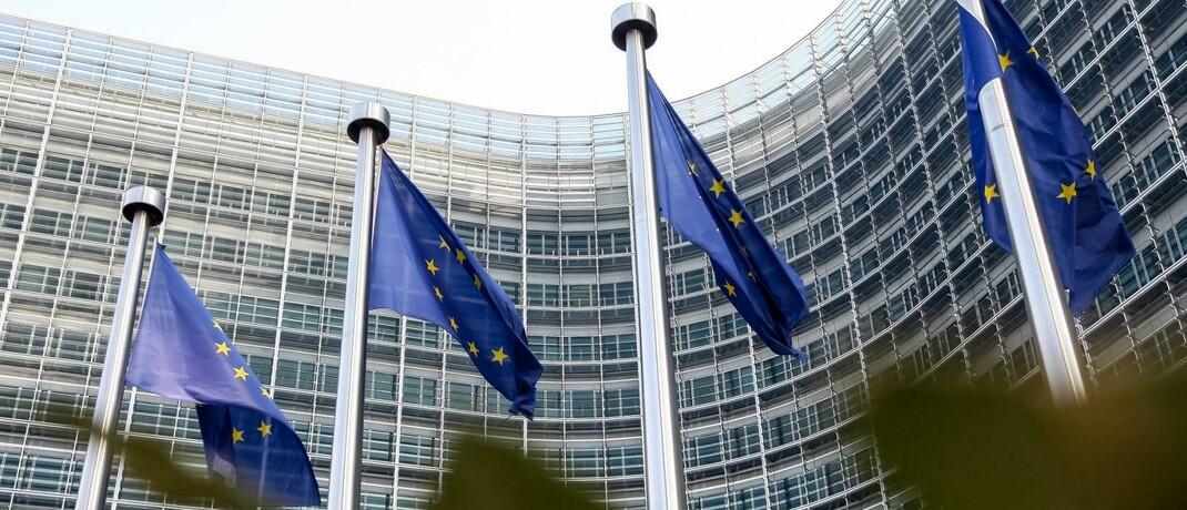 Im Brüsseler Berlaymont-Gebäude hat die Europäischen Kommission ihren Sitz.|© Adobe Stock © areporter