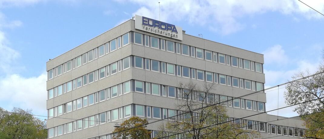 Direktion der Europa Versicherungen in Köln: Der Direktversicherer aus dem Continentale Versicherungsverbund verzeichnet mit 823 Prozent eine besonders hohe reine Solvenzquote. © Continentale Versicherungsverbund