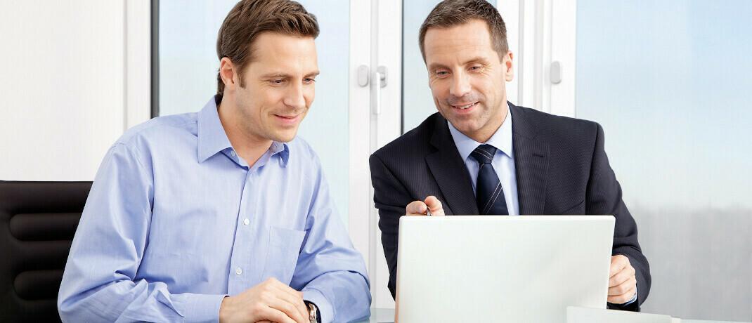 Beratungsgespräch: Der Maklerpool PMA stellt seinen Partnern ab sofort drei neue Fonds-Vermögensverwaltungsstrategien zur Verfügung. |© MLP