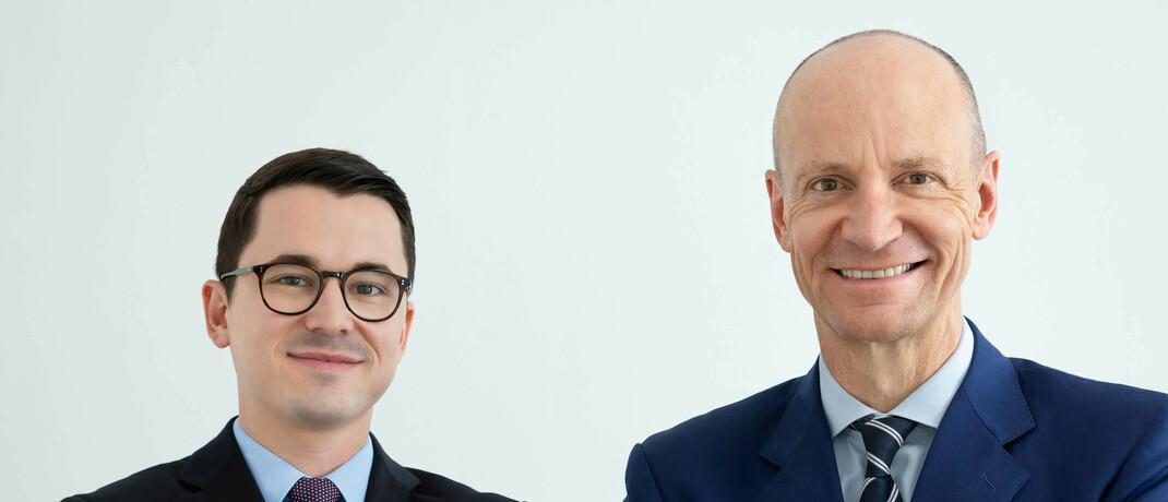 Alexander Weis (li.) und Gerd Kommer, Vermögensberatung Gerd Kommer Invest|© Gerd Kommer Invest