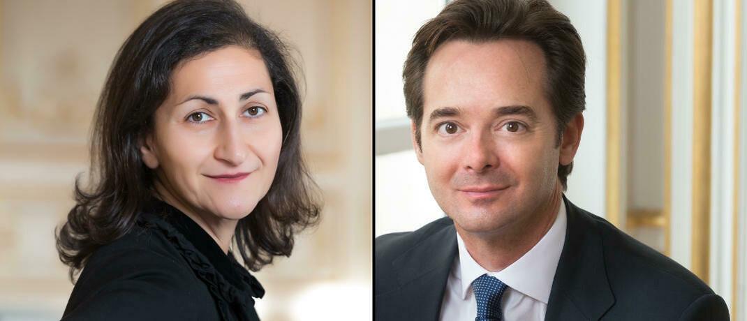 Fondsmanager des Carmignac Patrimoine: Rose Ouahba und David Older.|© Carmignac Gestion