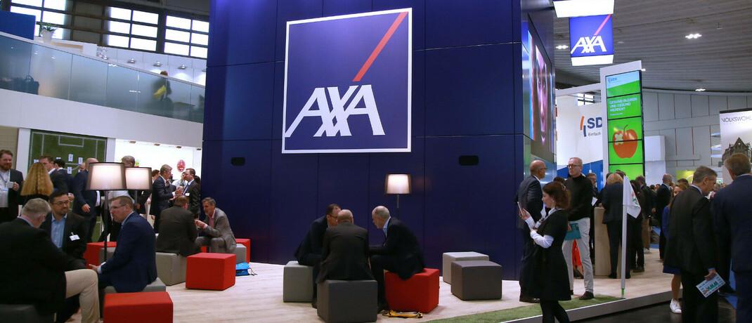 Axa-Stand auf der Dortmunder Vermittlermesse DKM