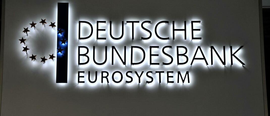 Logo der Deutschen Bundesbank: Die FIL Fondsbank gibt ab Oktober 2020 den Einlagenzins der deutschen Zentralbank von derzeit 0,5 Prozent an Kunden mit mehr als 100.000 Euro Bankguthaben weiter.