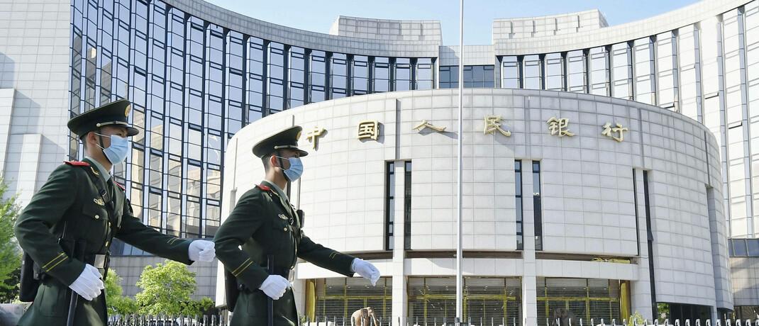 Chinesische Zentralbank: Ausländische Anleger investierten bisher kaum in Chinas Rentenmarkt.