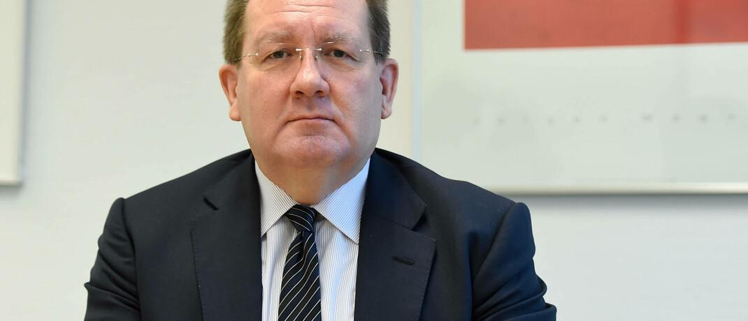 Felix Hufeld: Im Namen des Bafin-Chefs wollten Betrüger Verbraucher zu Geldüberweisungen bewegen.  © imago images / brennweiteffm