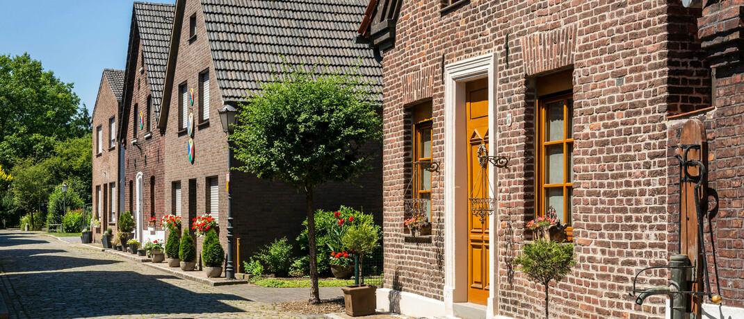 Wohnhäuser im Ruhrgebiet © imago images / Werner Otto