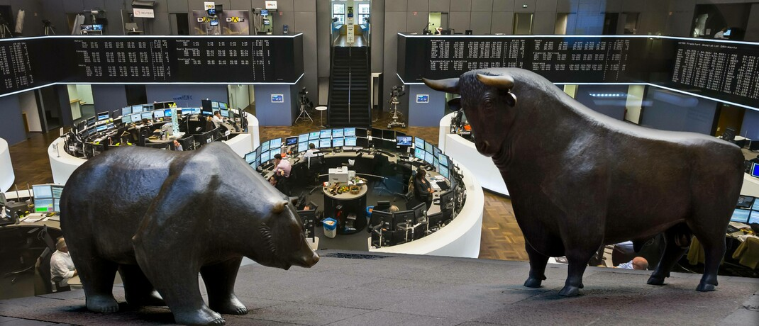 Börse in Frankfurt © imago images / Westend61