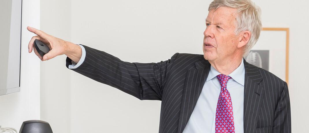 Jens Ehrhardt: Trotz der Corona-Pandemie blickt der Aktienprofi sehr zuversichtlich auf den Aktienmarkt.  © DJE Kapital