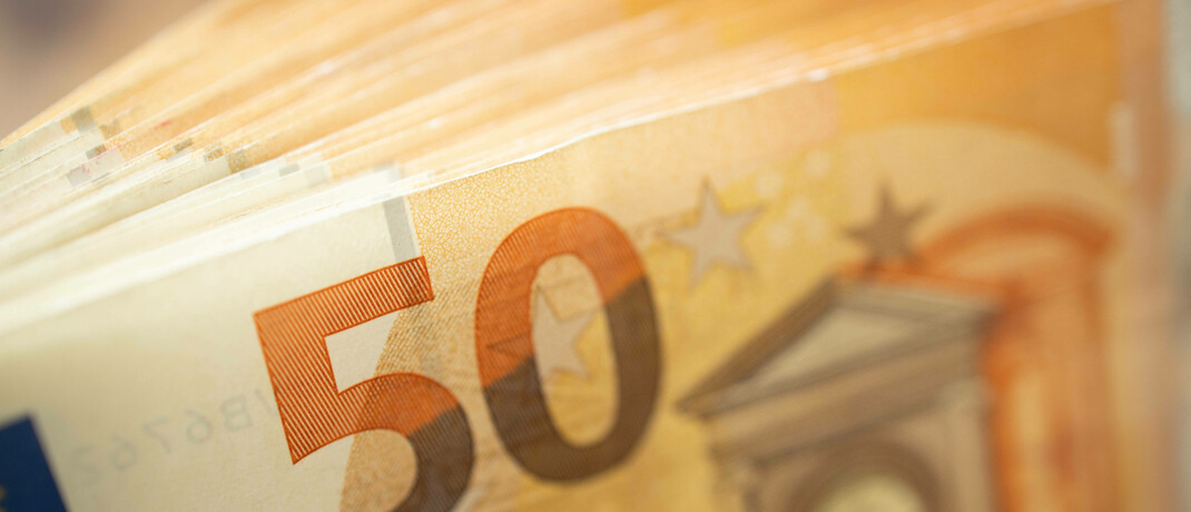 50-Euro-Scheine: Die FDP-Fraktion erkundigte sich in einer Kleinen Anfrage nach dem Zustand der Entschädigungseinrichtung der Wertpapierhandelsunternehmen (EdW). © imago images / Hans Scherhaufer