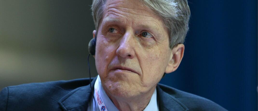 Robert Shiller: Der US-Ökonom entwickelte die nach ihm benannte Kennzahl Shiller-KGV.|© imago images / ITAR-TASS