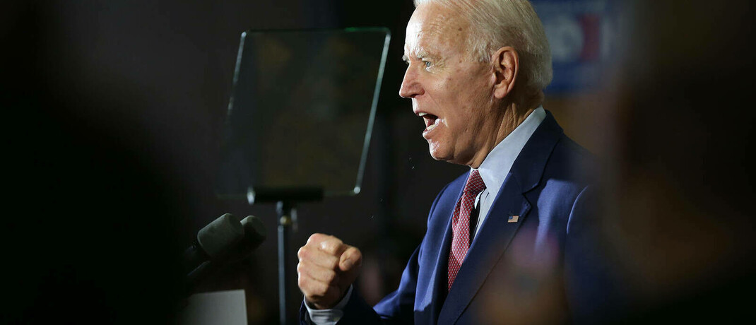 US-Demokrat Joe Biden: Derzeit deutet vieles darauf hin, dass er gegen Amtsinhaber Donald Trump gewinnt.|© imago images / ZUMA Wire / John J. Kim