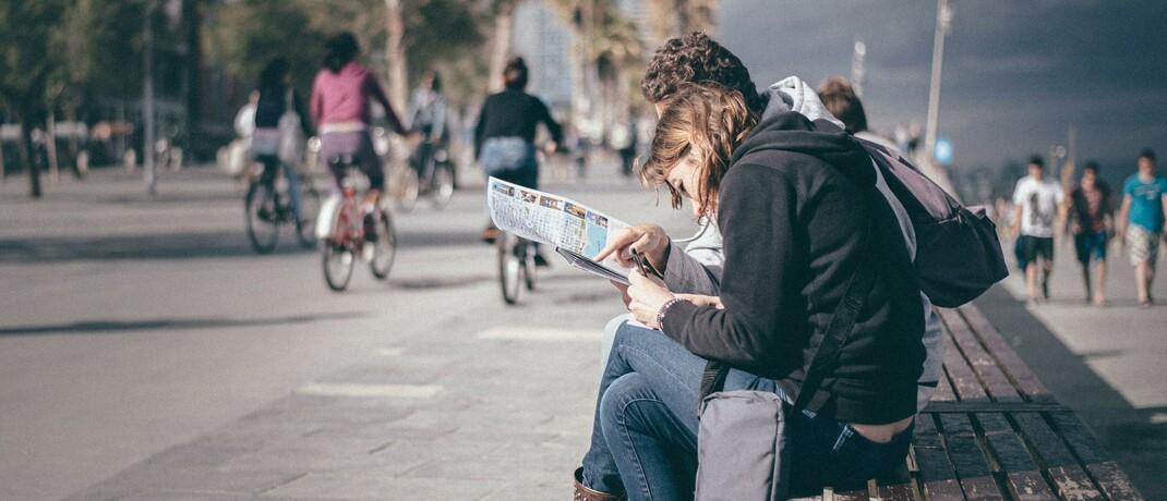 Paar im Urlaub: Die Krankenversicherung der Continentale schützt auch bei Reisen ins außereuropäische Ausland.|© Unsplash.com